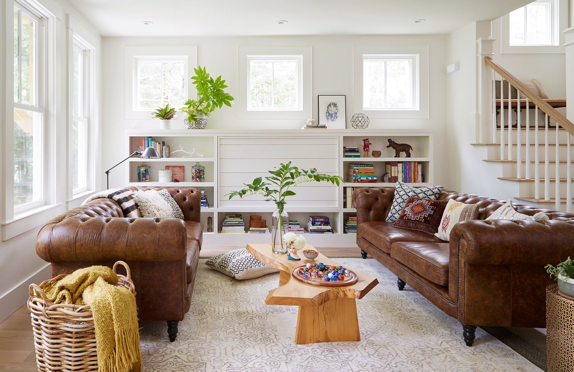 Living Room Decorating Ideas With Brown Leather Furniture In 2020