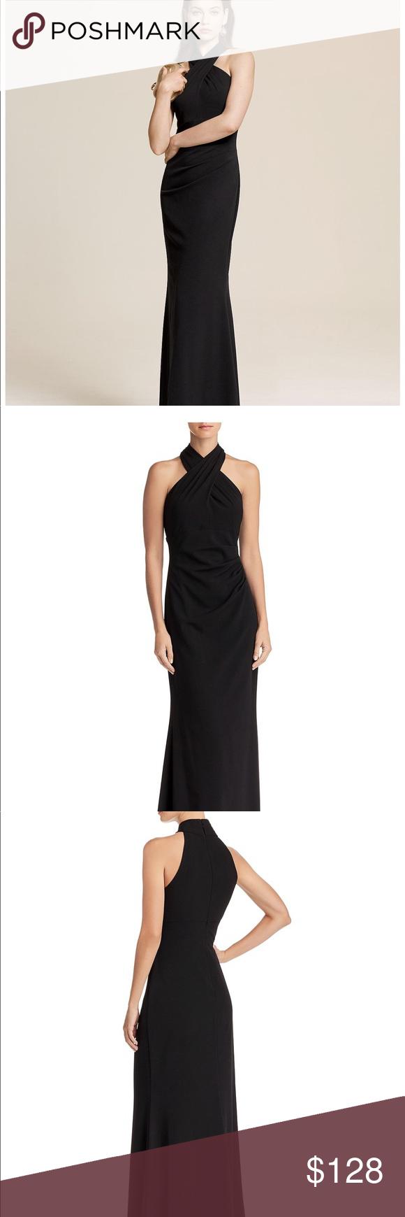 Eliza j cross neck long dress my posh closet pinterest size
