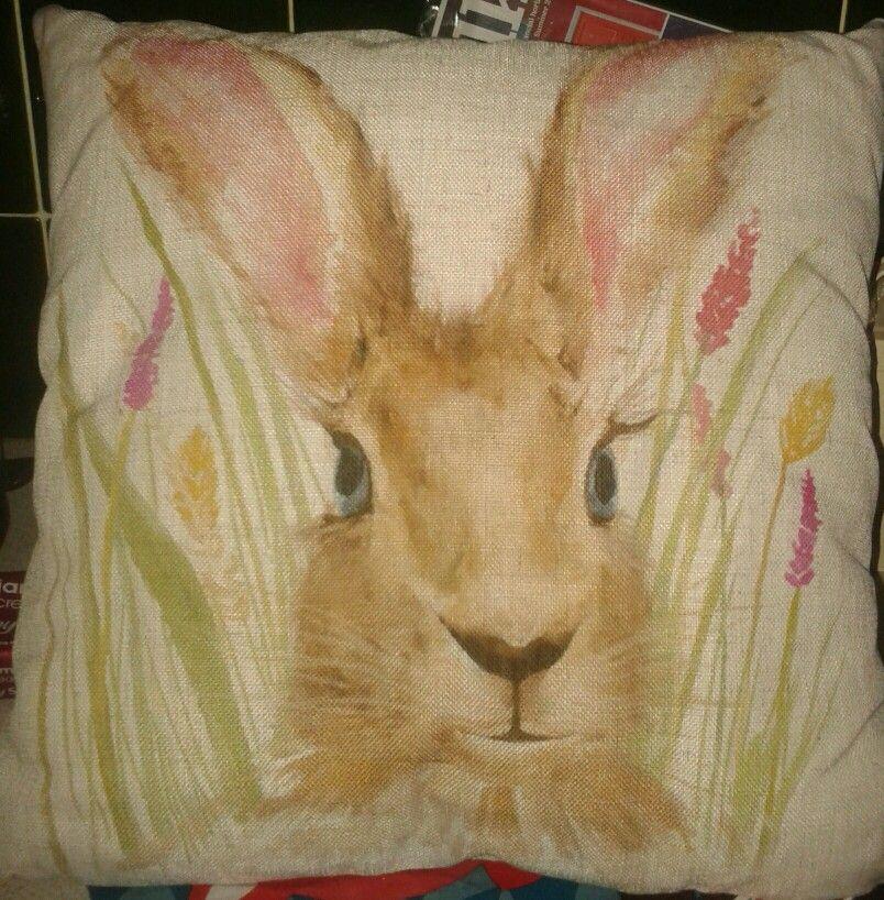 Harry Hare Cushion Sainsburys
