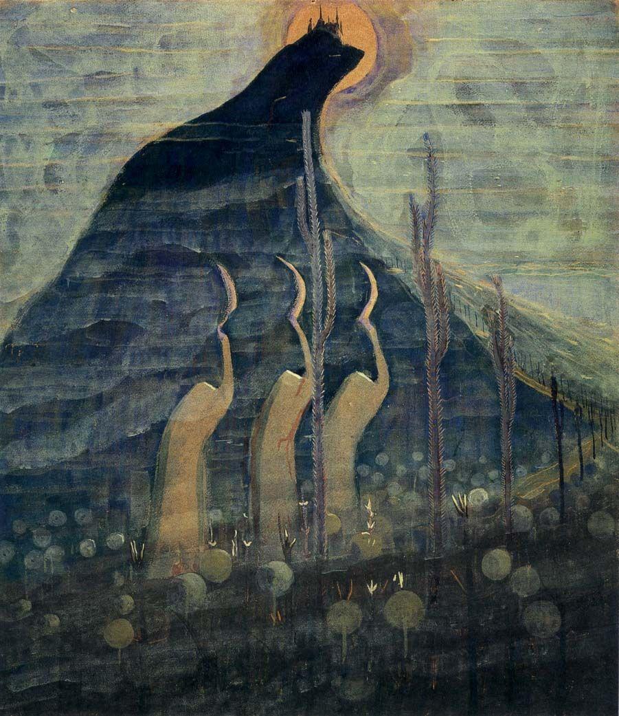 Fairy Tale I Mikalojus Konstantinas Ciurlionis 1907 Peintre