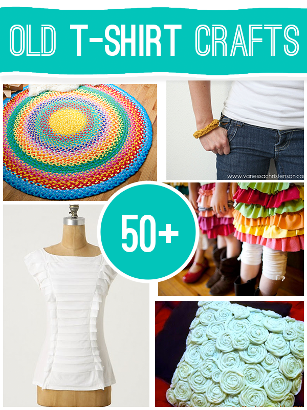 50 Projects To Make Using Old T Shirts Who Doesn T Have