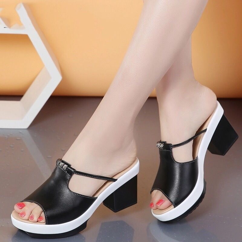 Black Low Heels Shoes Women Casual Daytime Street Club Daily Summer Day Outfit Ladies Offic Zapatos Elegantes Mujer Zapatos Casual Mujer Zapatos Comodos Mujer