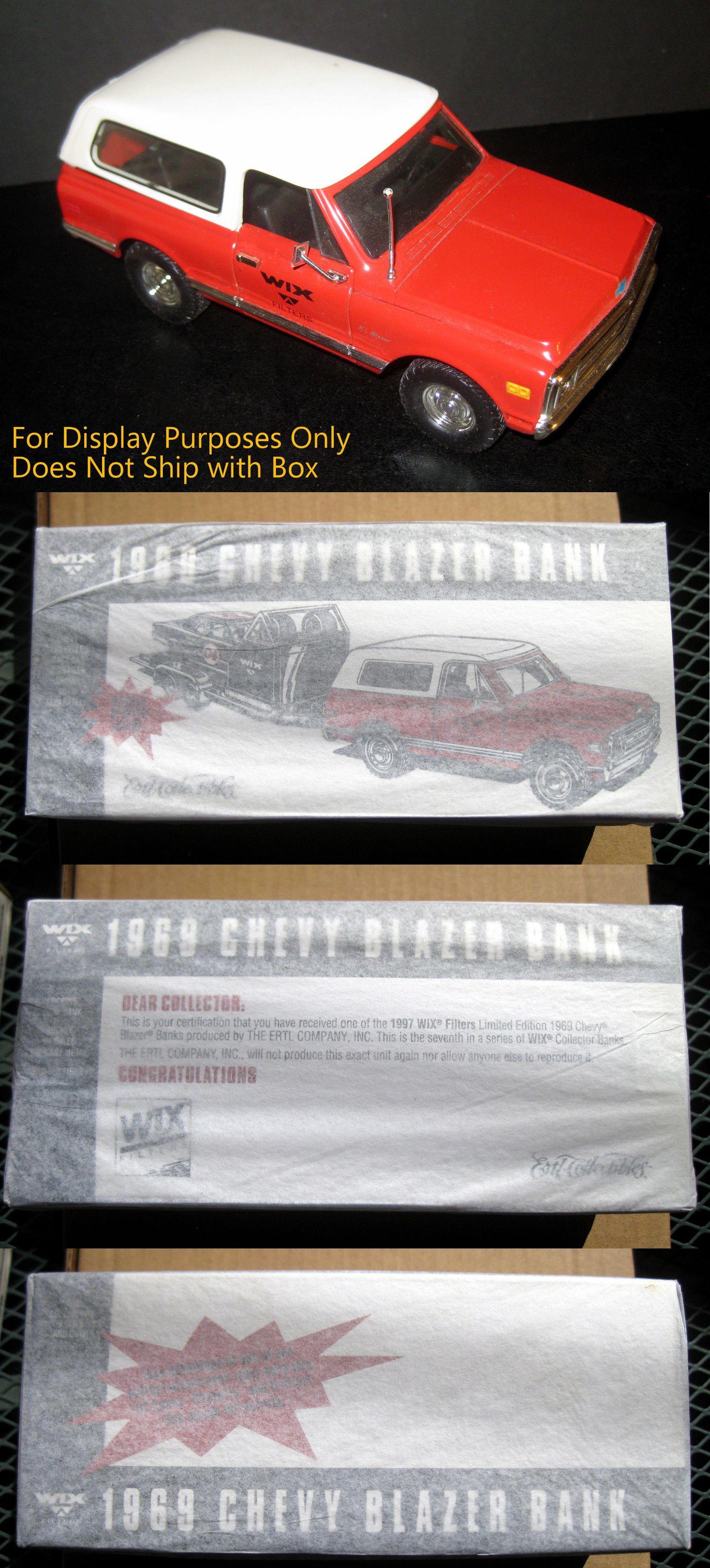 vehicle banks 43845 ertl collectibles 1969 chevy blazer bank wix rh pinterest com