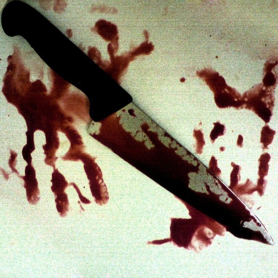 Google search- bloody knife