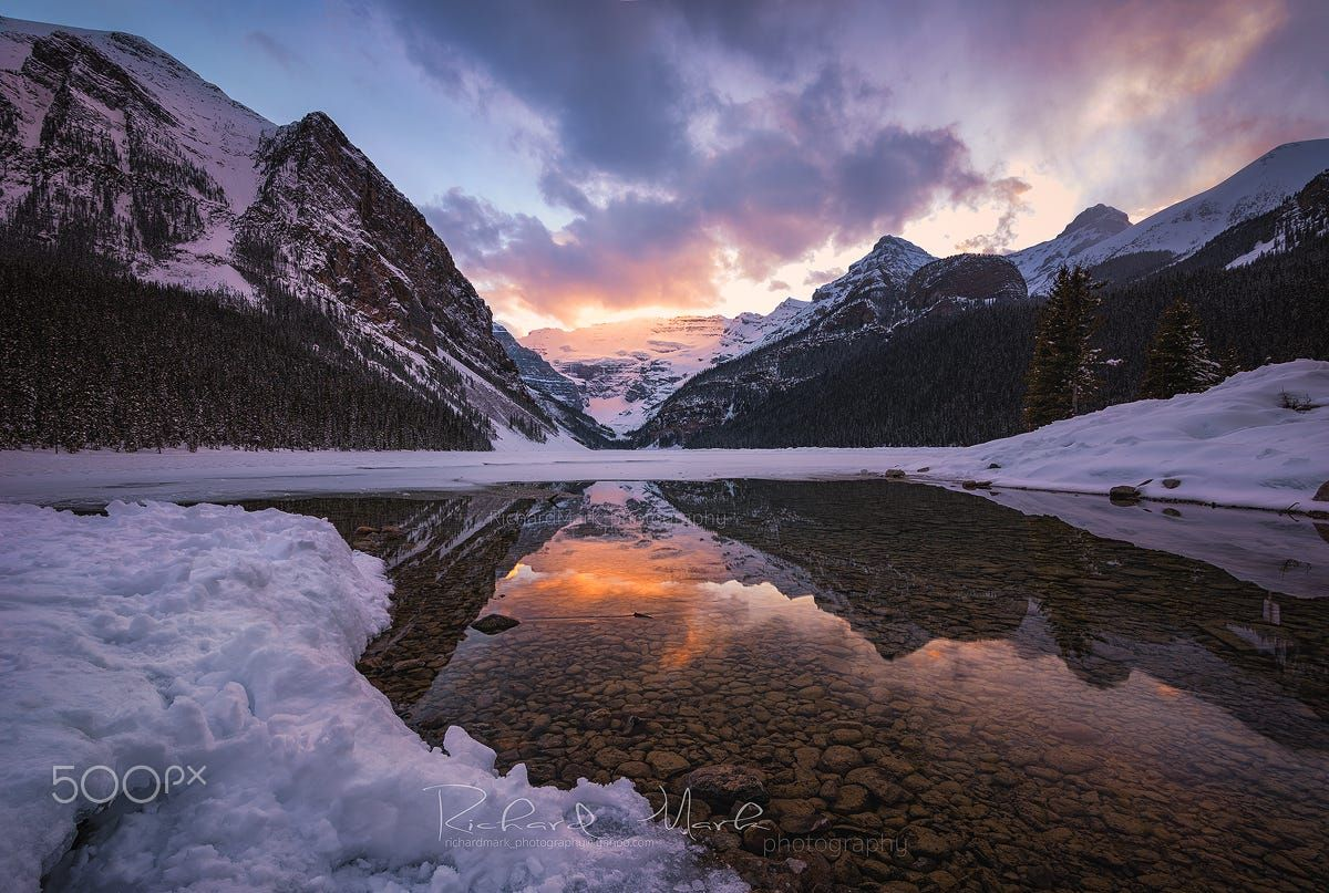 Majestic lake by Richard Mark on 500px