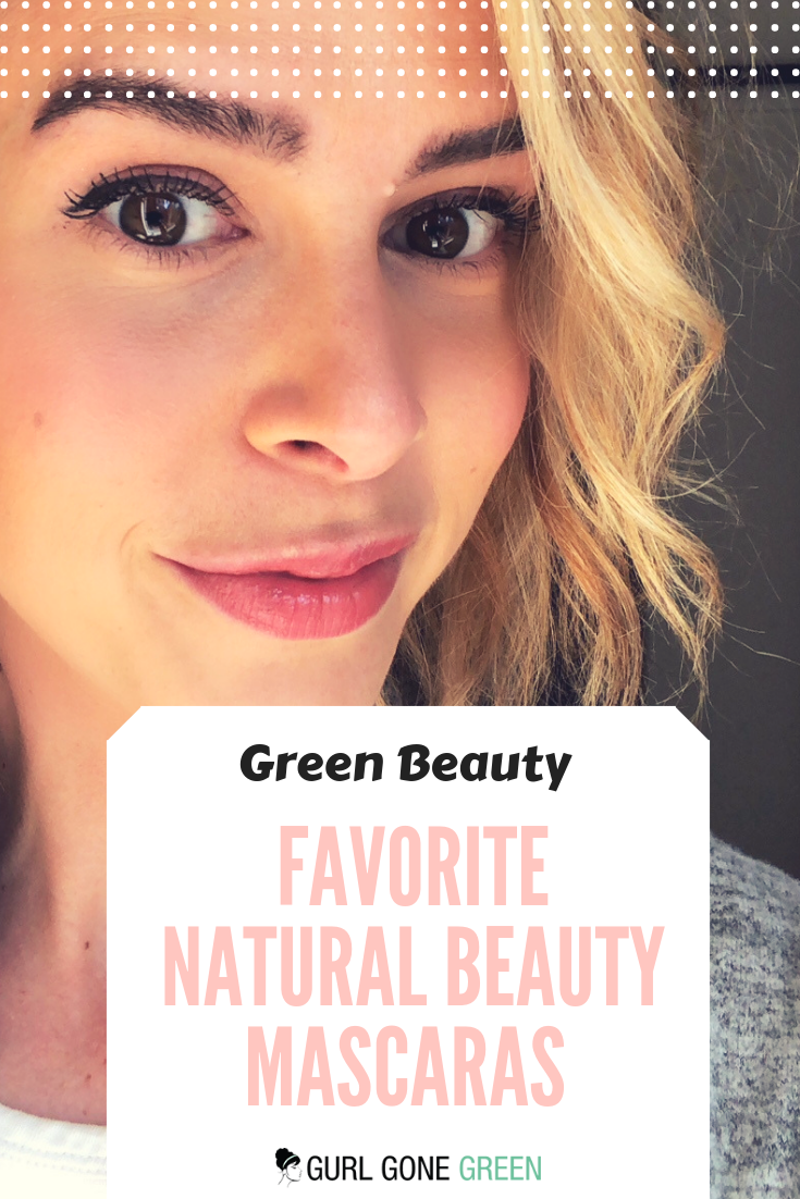 Favorite Natural Beauty Mascaras #organicmakeup