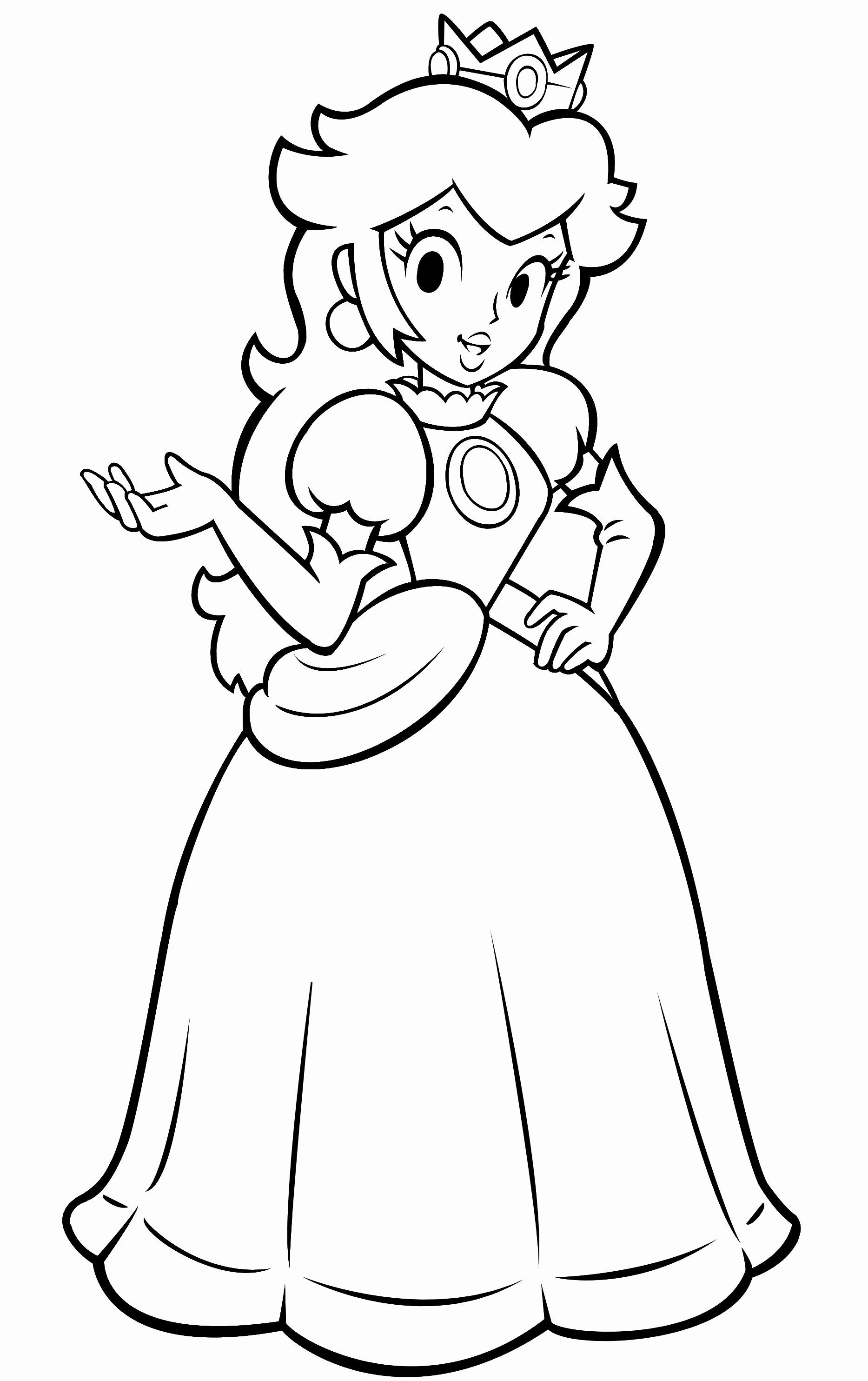 Children 039 S Coloring Pages Disney Awesome Princess Peach Coloring Pages