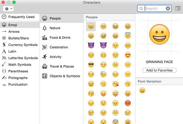You Can Also Easily Use Other Symbols Or Emoji On Your Mac Emoji Symbols Emoji Texts