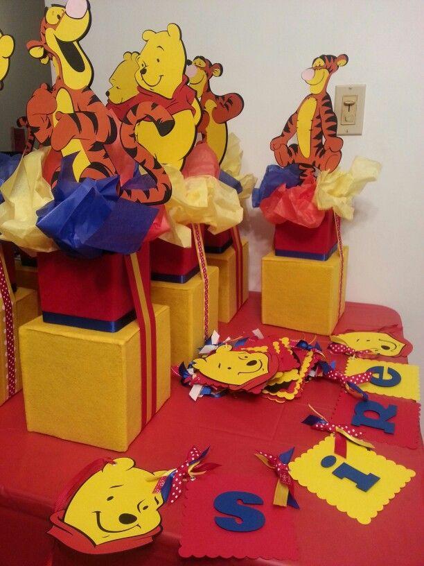 winnie the pooh centerpieces everything pooh d winnie the pooh rh pinterest com
