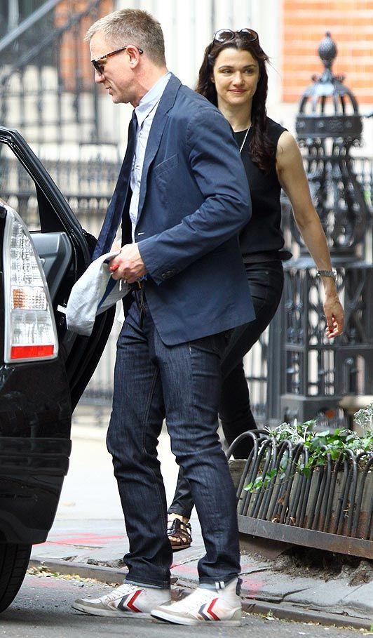Daniel Craig, Rachel Weisz, SCORPARIA