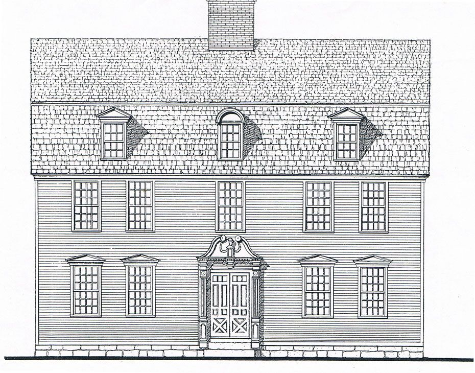 18th Century Colonial Home Designs U0026 Consultation   Sunderland Period Homes