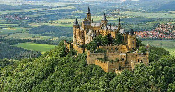 Castle gardens, Schwerin castle, Schwerin, Mecklenburg Vorpommern ...