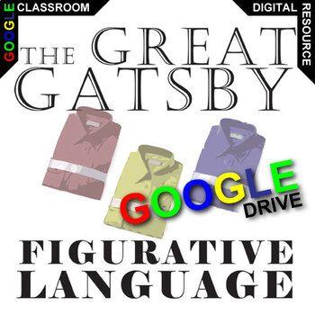 The Great Gatsby Palacio Rj Novel Figurative Language Created For