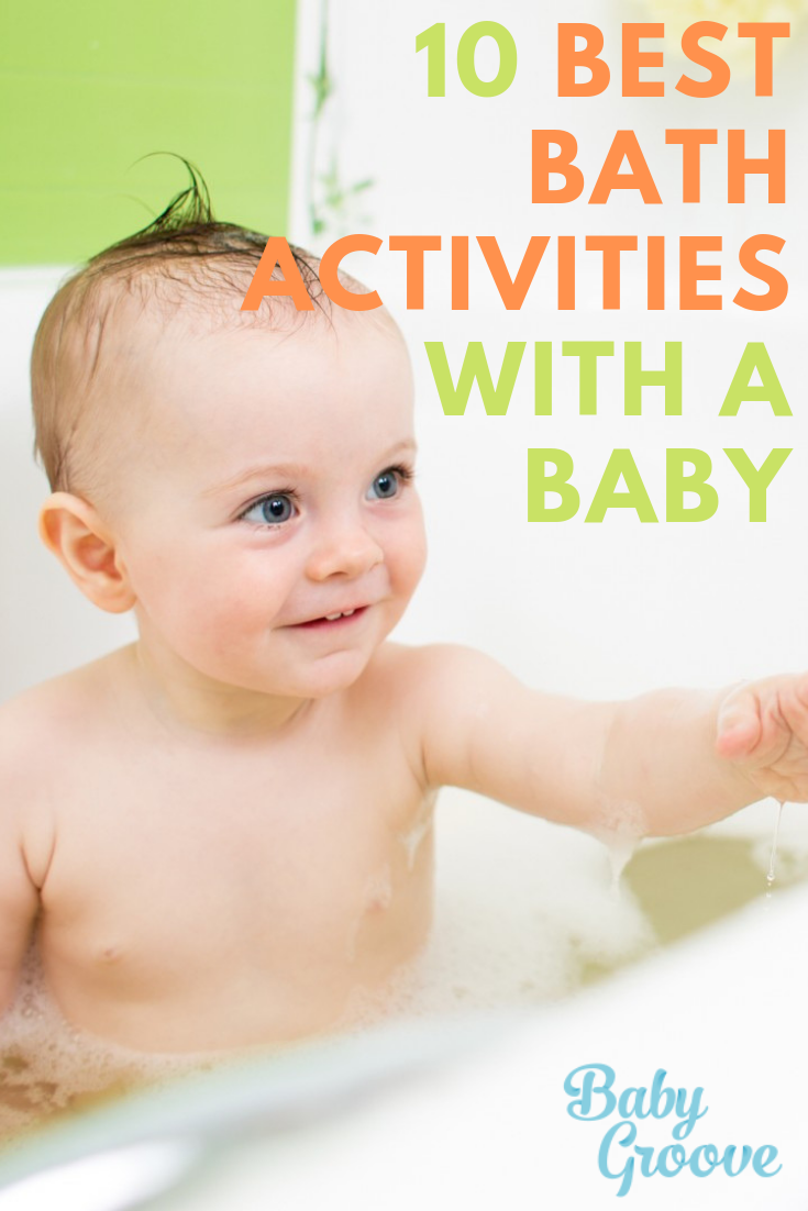 10 Best Bath Activities You Ve Never Tried With Baby Newborn Activities Baby Bath Time Cool Baby Stuff