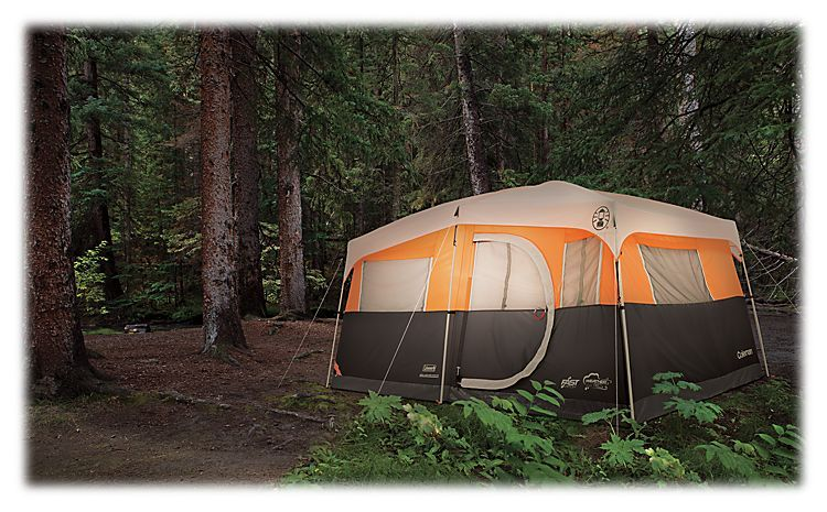 Coleman Jenny Lake 8-Person Fast Pitch Cabin Tent with Closet | Bass Pro Shops & Coleman Jenny Lake 8-Person Fast Pitch Cabin Tent with Closet ...