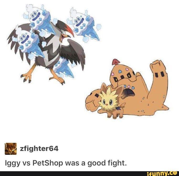 Zfighter64 Iggy Vs Petshop Was A Good Fight Ifunny Jojo