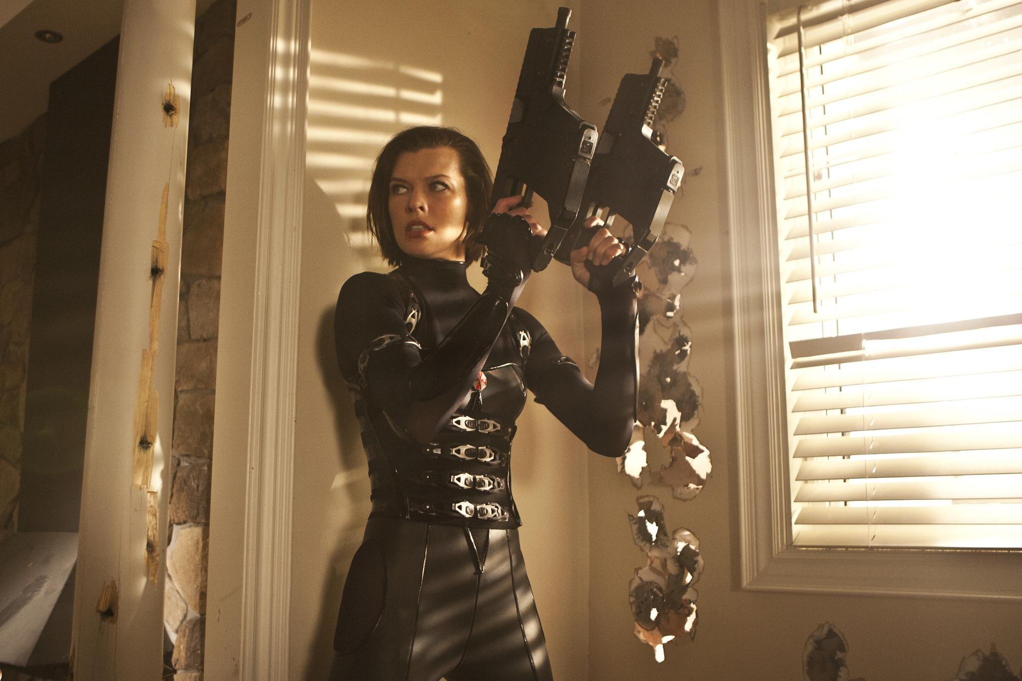 Are not Resident evil movie girl accept