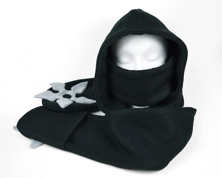 Ninja Scoodie (hooded scarf) Craftsy | Sewing Accessories ...