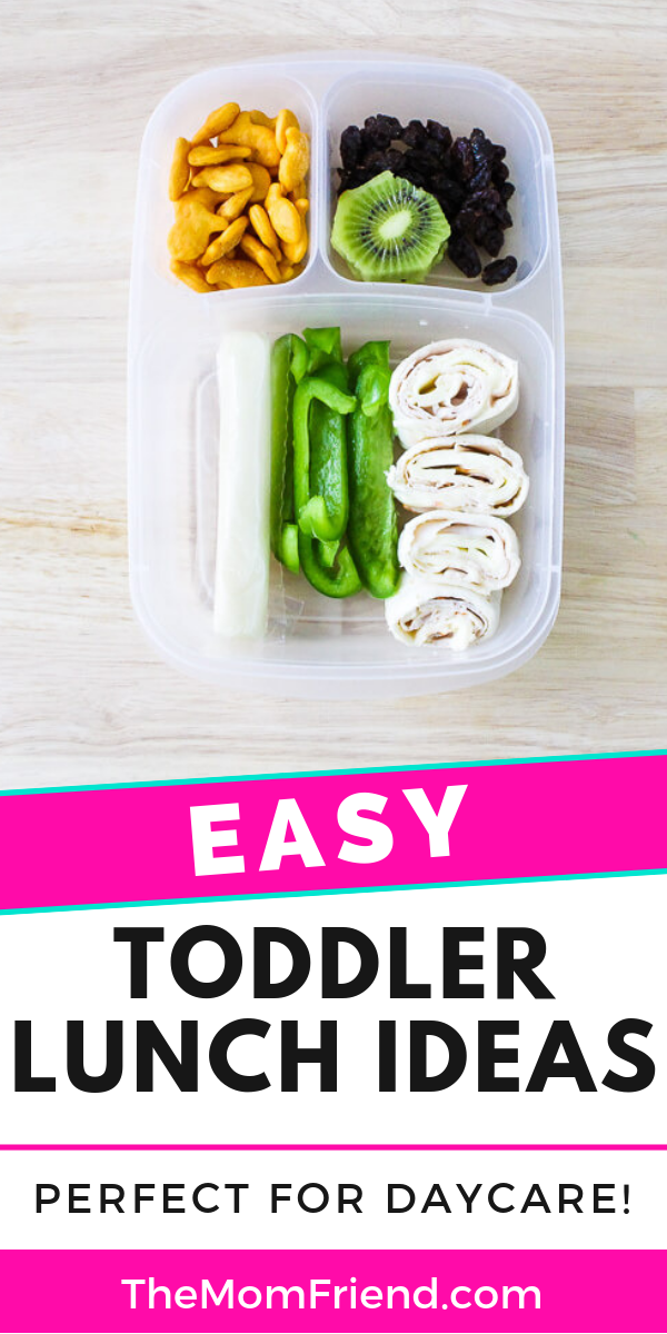 Easy + Healthy Toddler Lunch Ideas for Daycare images