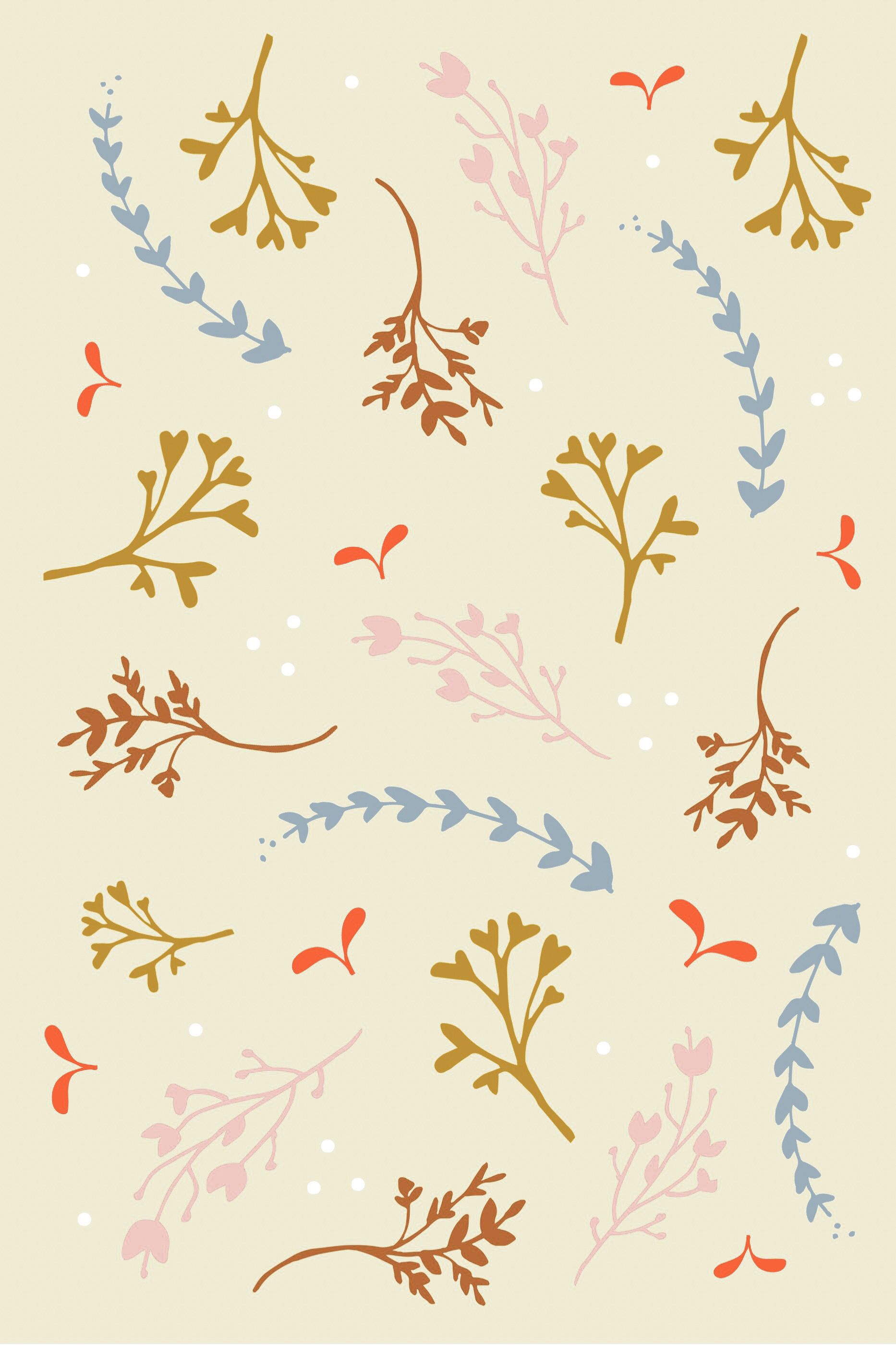 Dainty Floral Print Floral Prints Prints Backgrounds Girly