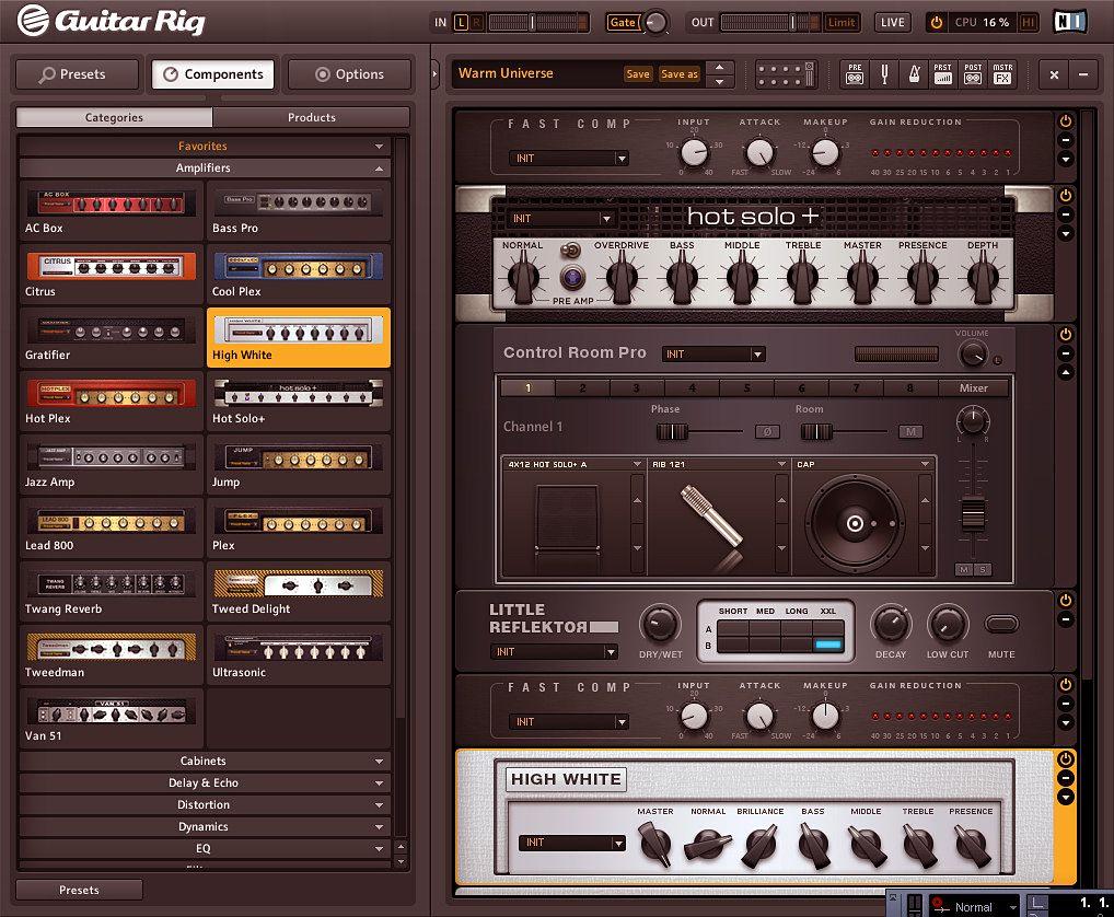 Guitar Rig 5.2 0
