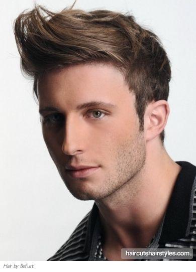 Peinados a la Moda Cortes y Peinados para hombres 2013 boy hair