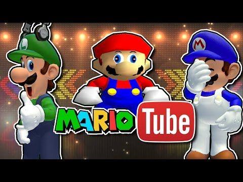Smg4 Mariotube Youtube Pokemon Funny Funny Gif Mario