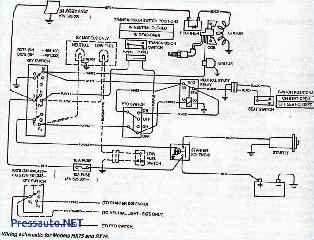 Snow Blower Starter Wiring Diagram Doing The New Way Plow Together With Curtis Yes I Have A John Deere Rx75 Lawn Mower Will Not Start Of Rh Pinterest Com 99 F350 Motor Ge