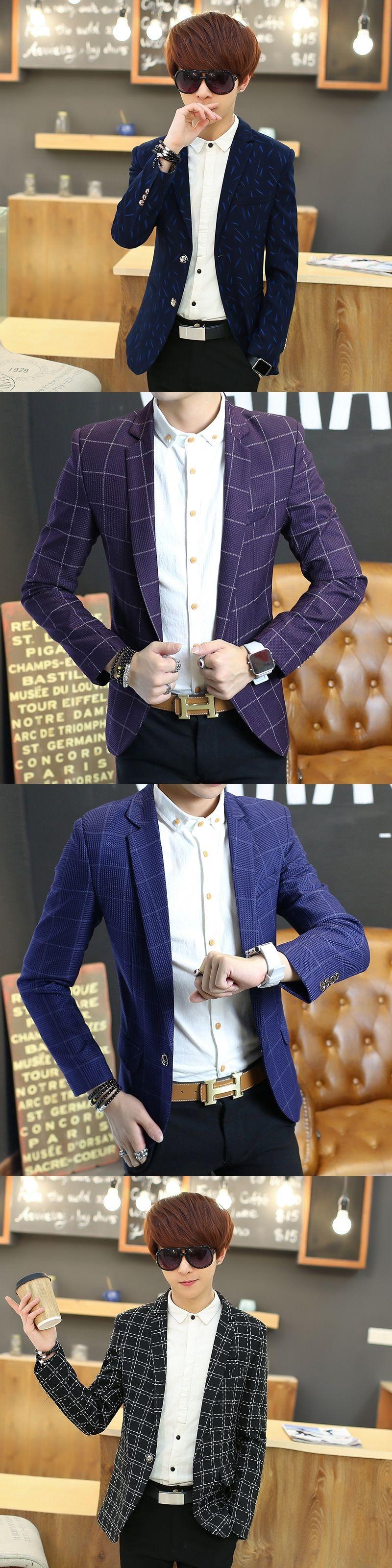 New autumn coat style luxury business casual suit men blazers set