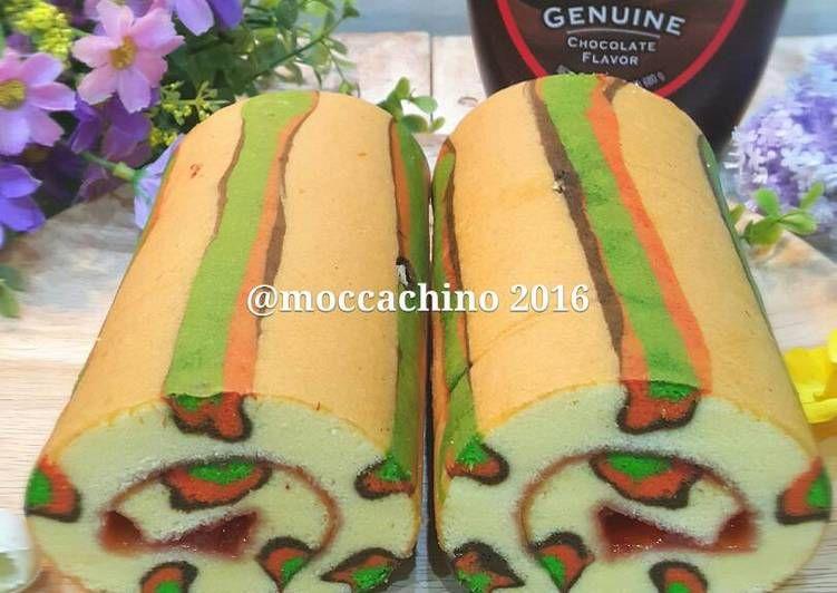 Resep Panther Roll Cake Oleh Erna Juliwati Resep Kue Gulung Resep Kue Lapis