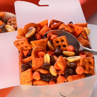 Not For The Faint Of Heart Spicy Halloween Party Mix