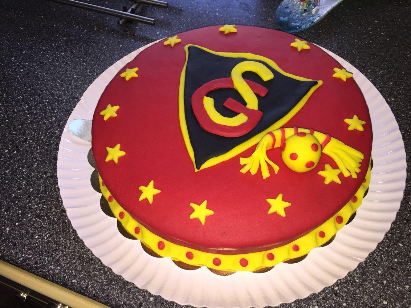 Fußball Kuchen Fondant