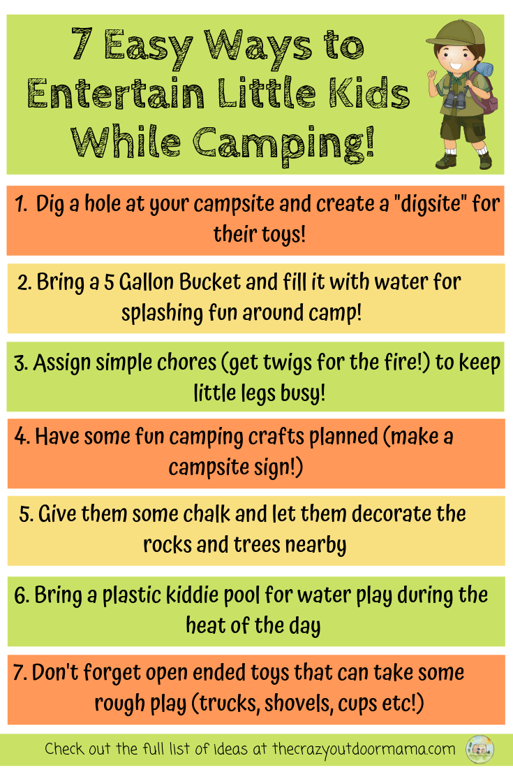 11 Easy Camping Activities and Ideas for Kids (that are cheap and fun!)