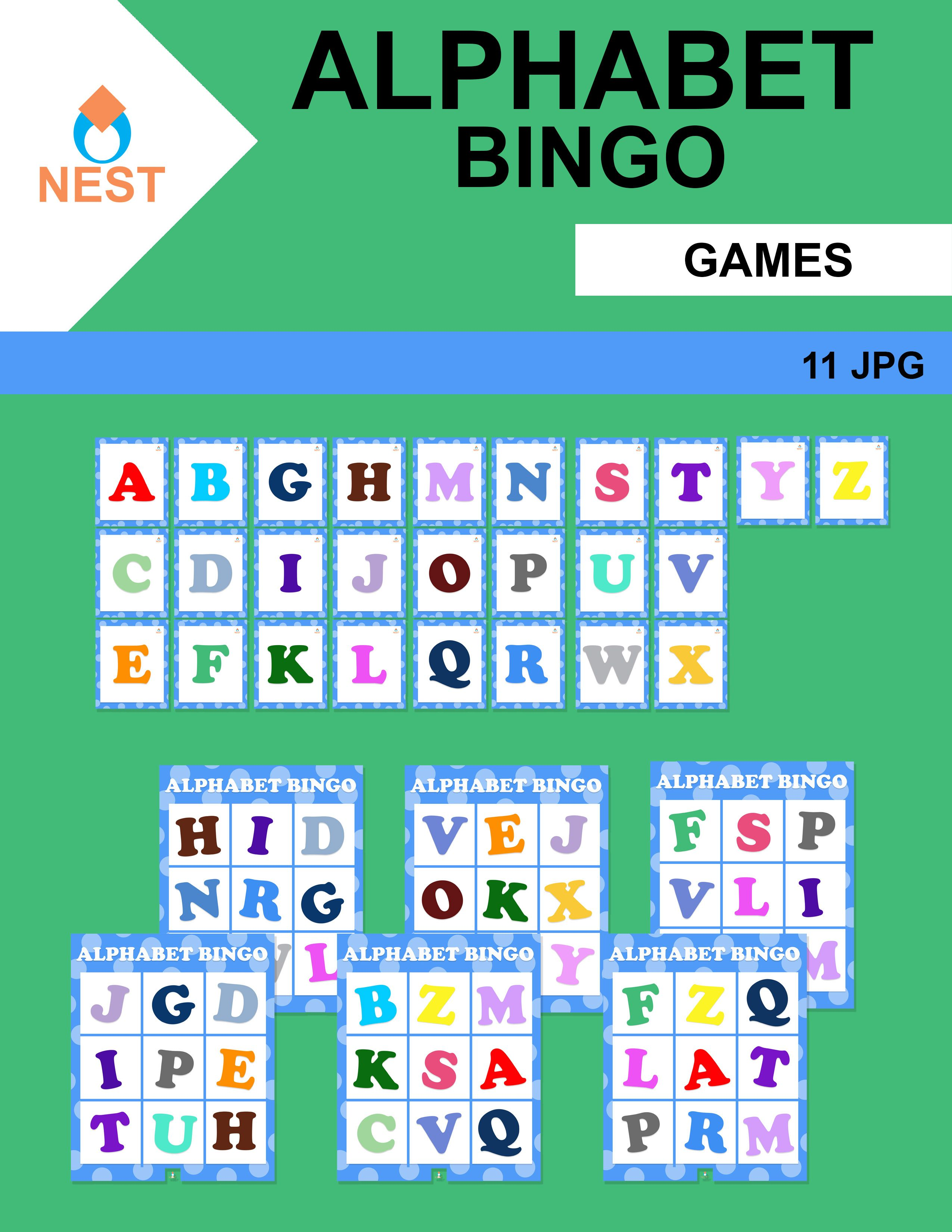Alphabet Bingo In