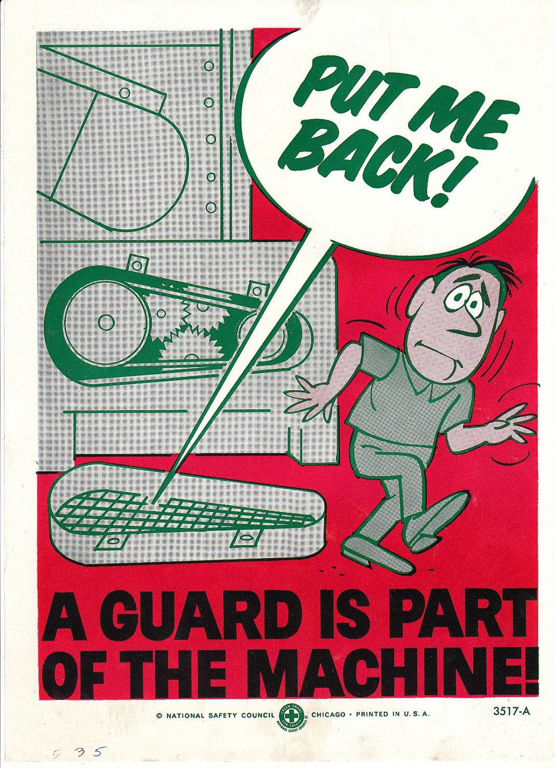 NSC Put Me Back! Safety posters