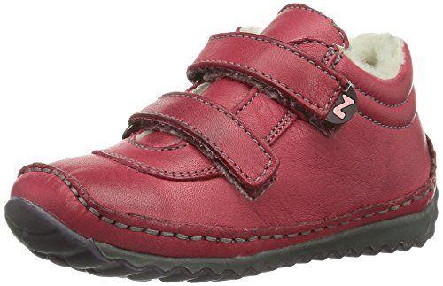 Naturino NATURINO CROW - Zapatos de primeros pasos de cuero bebé - unisex, color rosa, talla 24