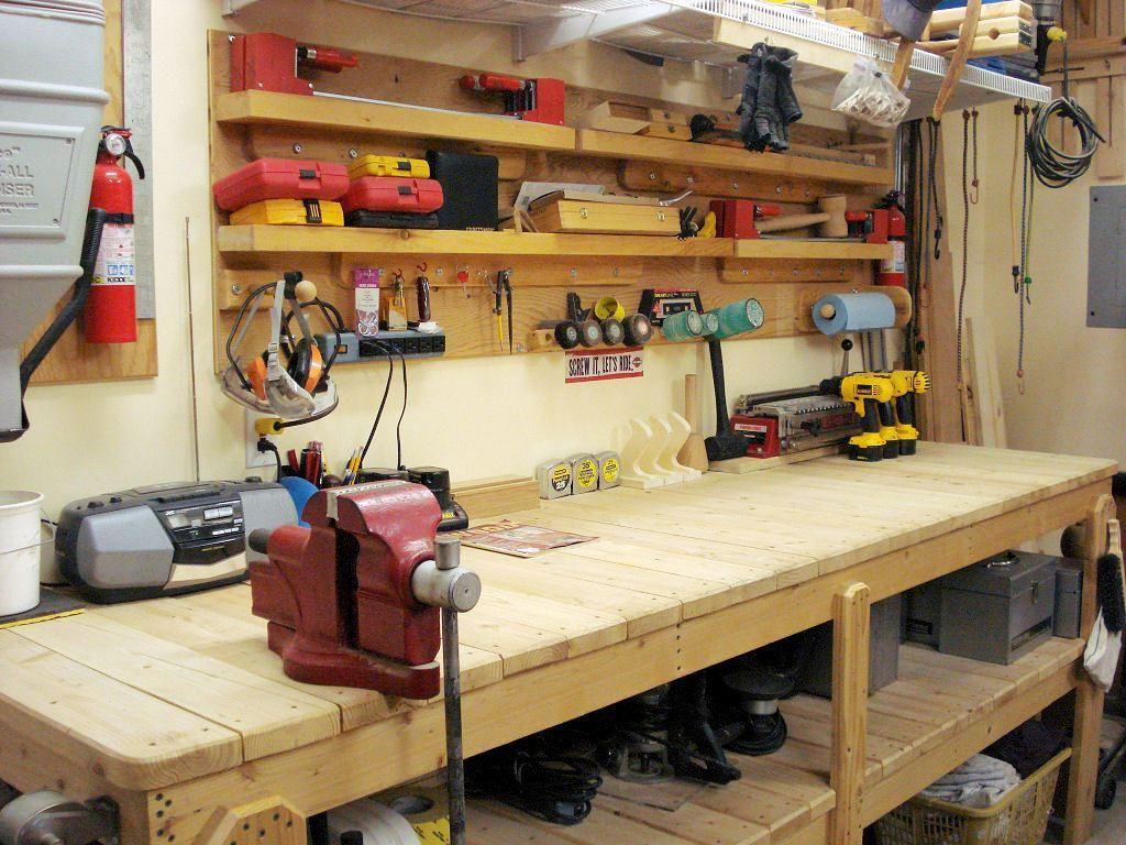 Workbench Ideas Please Garage Garage work bench, Garage