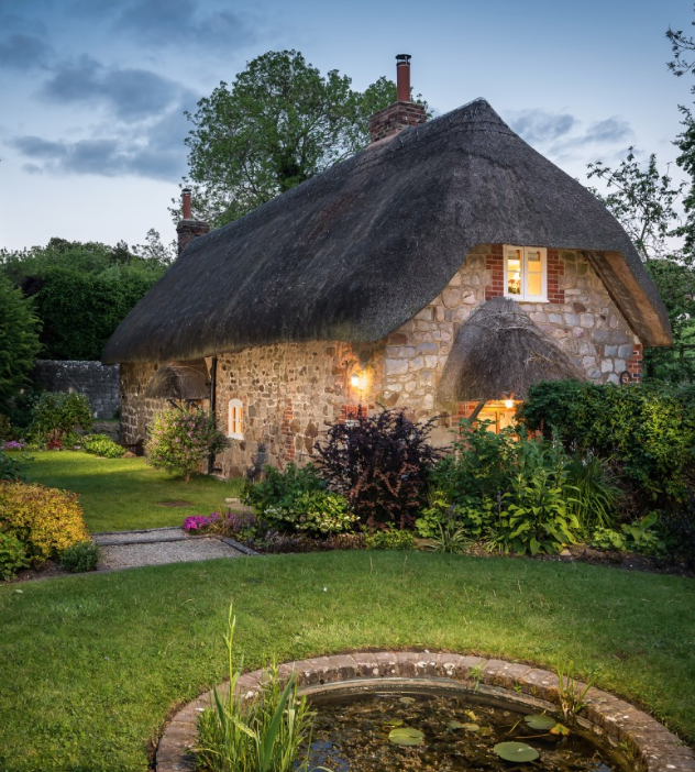 This Cottage Is As Close To Magical As You Can Get Fairytale Cottage Thatched Cottage Dream Cottage