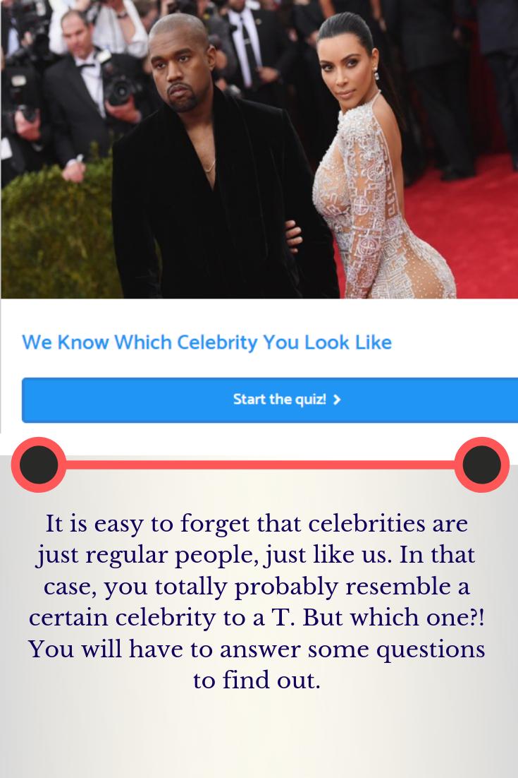 Celebrity Look Alike Quiz Male : celebrity, alike, Celebrity