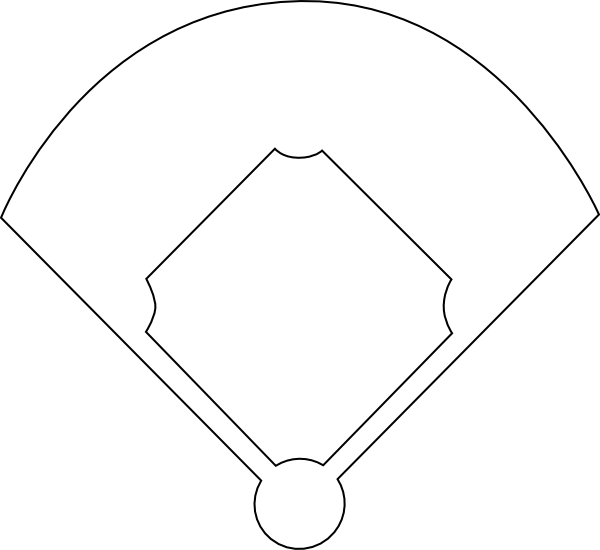 baseball diamond template printable clipart best clipart best