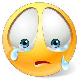 Crying يبكي Funny Emoticons Funny Emoji Emoticon