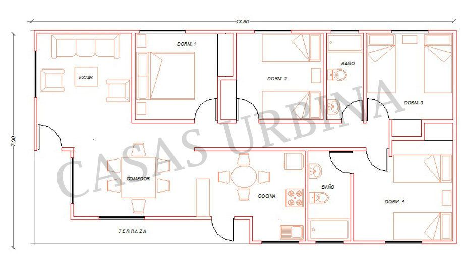 Casas Prefabricadas Todo Chile, Casas urbina | Modelos VINIL SIDING