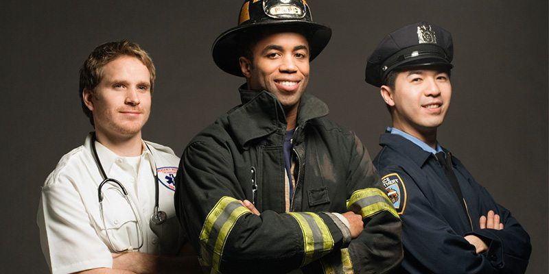 Enjoy Special First Responder Discounts And Save 10% Off