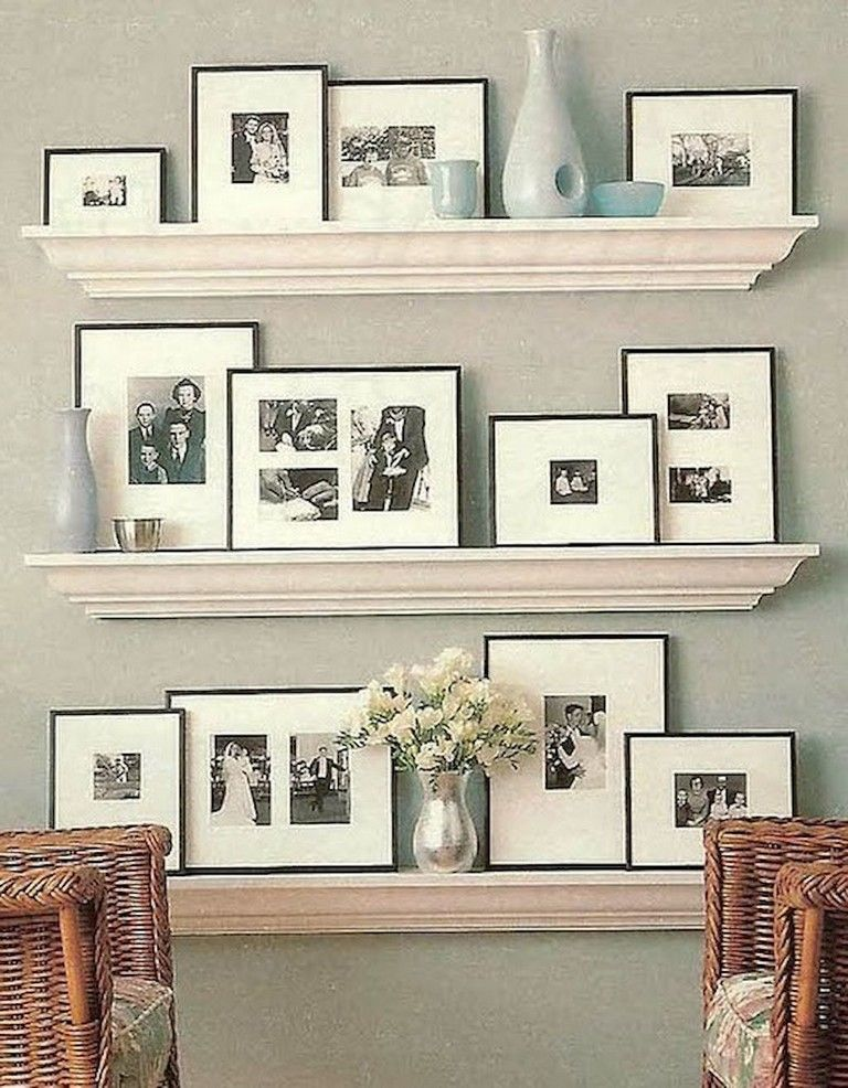 70 Exciting Floating Shelves For Living Room Decorating Page 23
