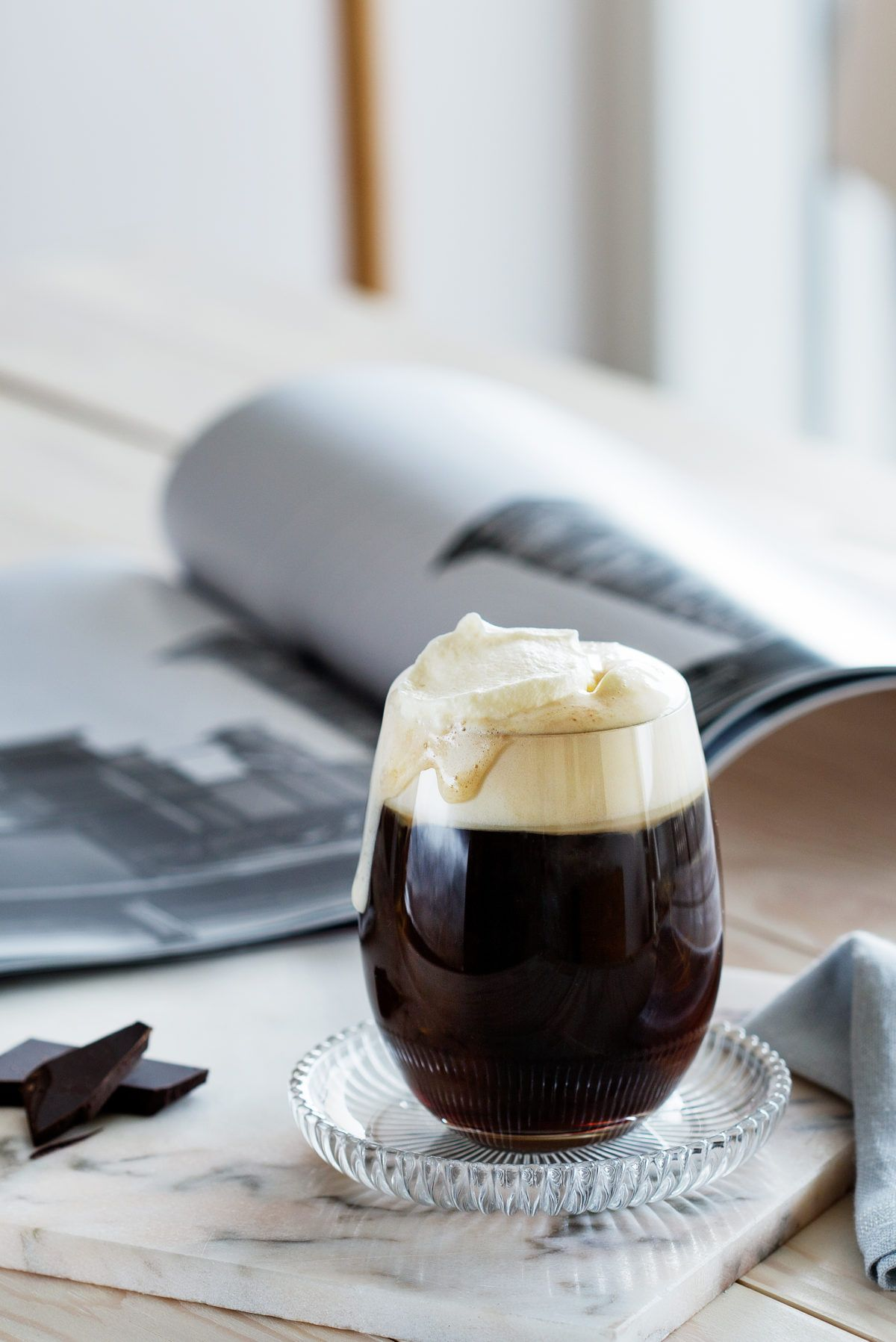 Coffee with whipped cream Recipe (With images) Whipped