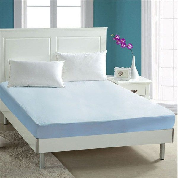 Solid color mattress cover best waterproof mattress protector in