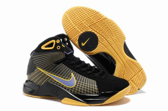 best cheap d5bed 24d47 Cheap Nike Hyperdunk TB Olympic Womens Black Purple Yellow 324820 057