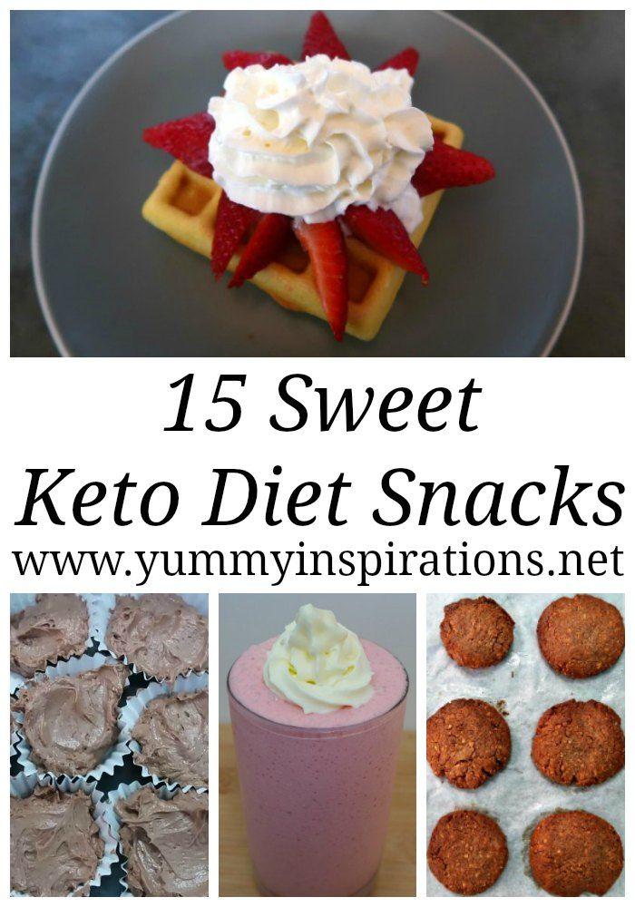 sweet snacks on keto diet