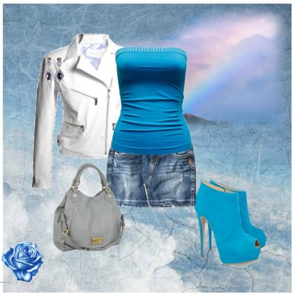 """""""Rosa azul"""" by sil-engler on Polyvore"""