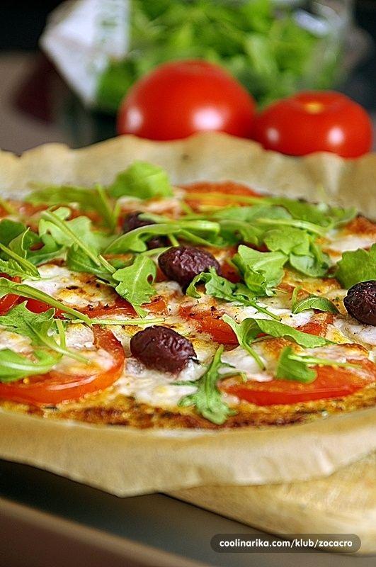 pizza kakvu vjerovatno do sada niste probali sa podlogom od cvjetace i nadjevom po vasoj